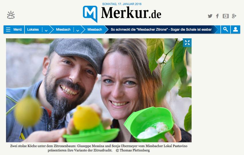 """So schmeckt sie, die """"Miesbacher Zitrone"""""""