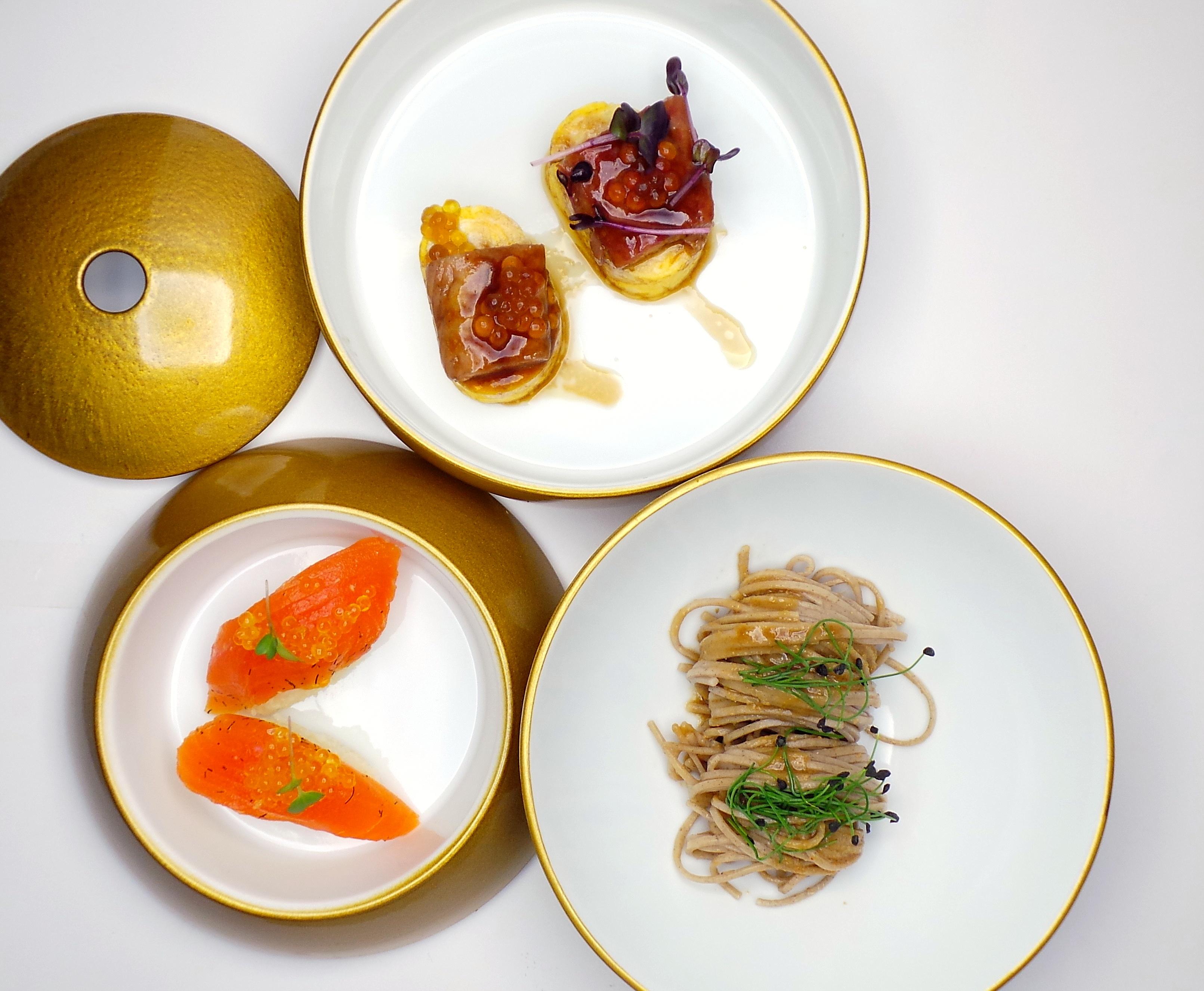 Japan: Sashimi / Aal / Soba